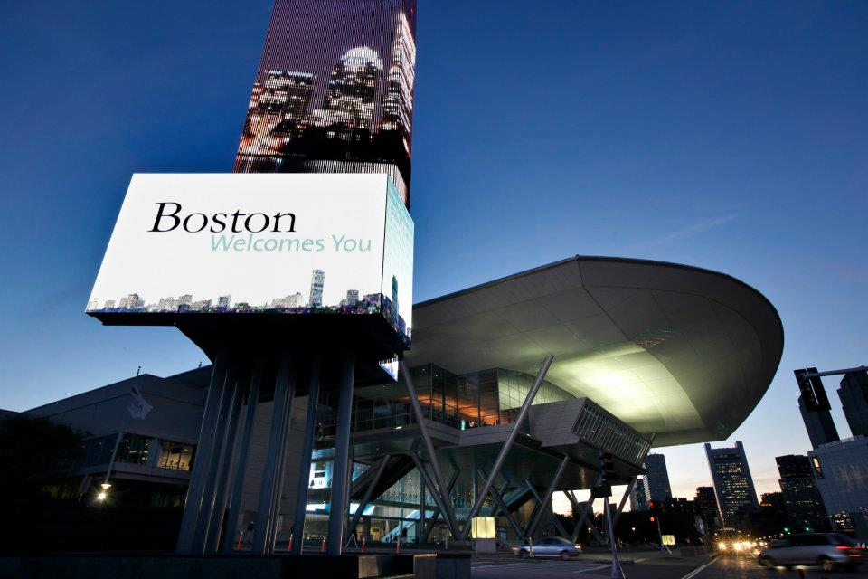 Boston Convention Center Aerva Digital Signage
