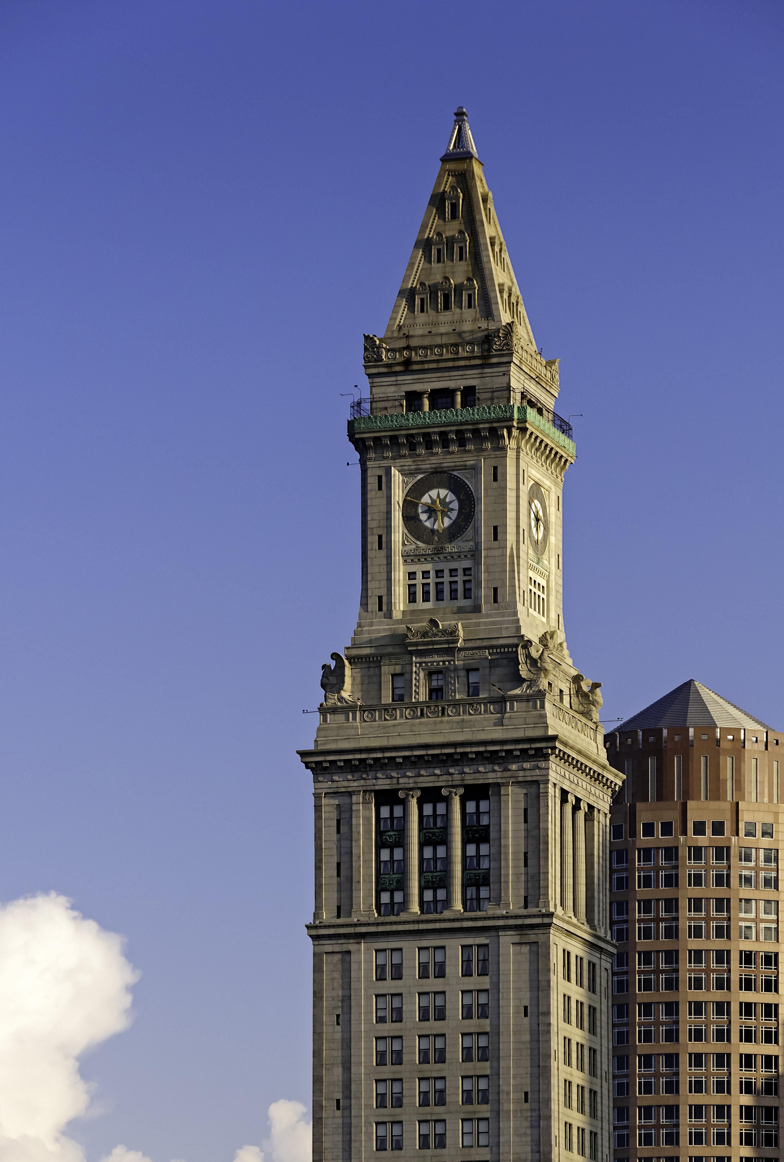 ... 100th Anniversary Of The Custom House S Clock Tower Massachusetts
