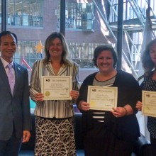 Mass Export Center Staff Awarded Industry Certificates for Export Knowledge