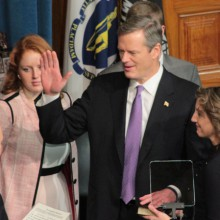 Charlie Baker Becomes Governor of Massachusetts on January 8, 2015