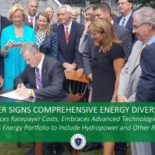 Governor Baker Signs Comprehensive Energy Diversity Legislation in Massachusetts