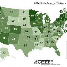 Massachusetts Ranked First in Nation for Energy Efficiency Polices and Programs