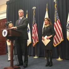 Governor Baker announces budget proposal for Fiscal Year 2018