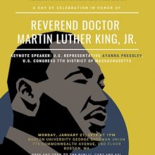 Martin Luther King, Jr. Event at Boston University