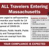 Baker-Polito Administration Announces Travel Guidelines for Travelers Arriving in Massachusetts